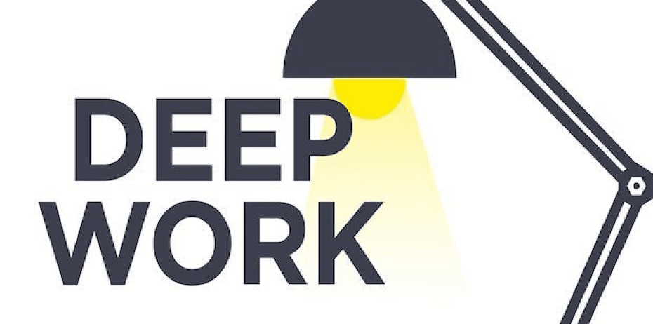 Deep work how to work in a world of distractions